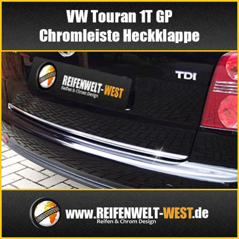 VW-Touran-1T-GP-Chromleiste-Heckklappe